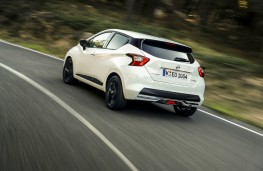 Nissan Micra N-Sport, rear, dynamic