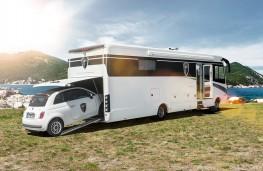 Morelo Palace motor home, 2018, integral garage