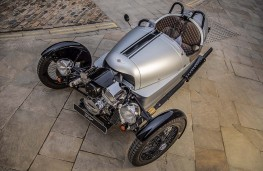 Morgan 3 Wheeler 110 Anniversary edition overhead