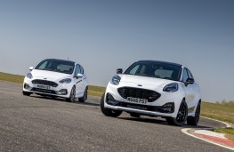 Ford Fiesta ST and Ford Puma ST