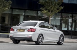 BMW M240i, 2017, rear, action