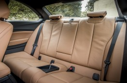 BMW M240i, 2017, rear seats