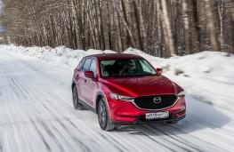 Mazda CX-5, Siberia, 2018, front
