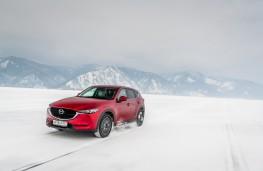 Mazda CX-5, Siberia, 2018, lake, front 3