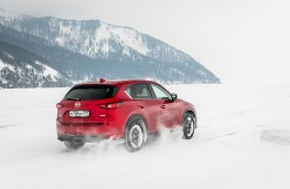 Mazda CX-5, Siberia, 2018, lake, rear