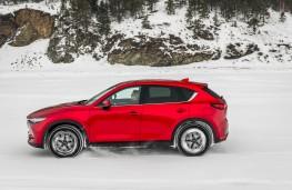 Mazda CX-5, Siberia, 2018, lake, side