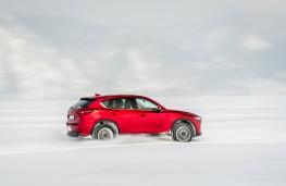 Mazda CX-5, Siberia, 2018, lake, side 2