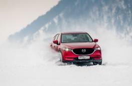 Mazda CX-5, Siberia, 2018, lake, front 2
