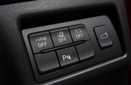 Mazda CX-5, Siberia, 2018, traction control switch