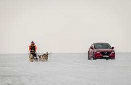 Mazda CX-5, Siberia, 2018, dog sled