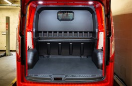 MS-RT Ford Transit Custom, 2018, cargo space