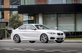BMW M240i, 2017, side, action