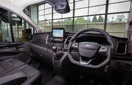 MS-RT Ford Transit Custom, 2018, interior