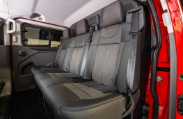 MS-RT Ford Transit Custom, 2018, rear seats