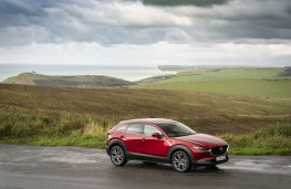 Mazda CX-30 SkyActiv-X, 2019, side, static
