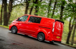 MS-RT Ford Transit Custom, 2018, side