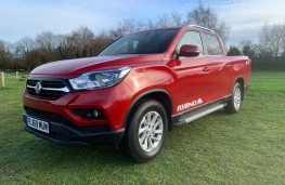SsangYong Musso Rhino, 2020, front