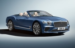 Bentley Continental GT Mulliner Convertible, 2020, front