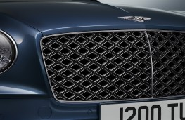 Bentley Continental GT Mulliner Convertible, 2020, grille