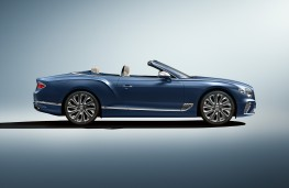 Bentley Continental GT Mulliner Convertible, 2020, side