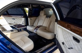 Bentley Mulsanne Grand Limousine by Mulliner, 2021, rear, interior