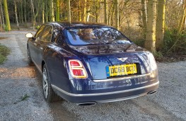 Bentley Mulsanne Speed, rear