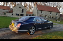 Bentley Mulsanne Speed, profile