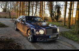 Bentley Mulsanne Speed, static