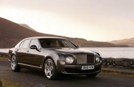 Bentley Mulsanne, front, static