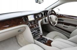 Bentley Mulsanne, interior