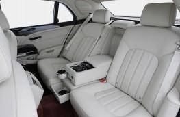 Bentley Mulsanne, rear seats