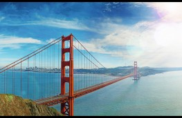 Bentley Mulsanne LWB, gigapixel image, Golden Gate Bridge, San Francisco