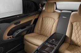 Bentley Mulsanne EWB, 2016, rear seat console