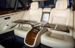 Bentley Mulsanne Grand Limousine by Mulliner, 2021, rear seats