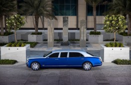 Bentley Mulsanne Grand Limousine by Mulliner, 2021, side