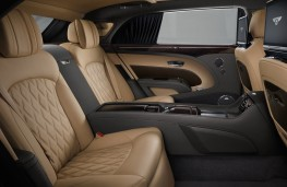 Bentley Mulsanne EWB, 2016, rear seats