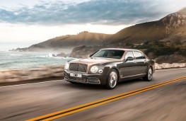Bentley Mulsanne EWB, 2016, side
