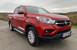 SsangYong Musso Rhino, 2020, front, static