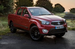 SsangYong Musso, 2016, front, static