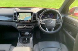SsangYong Musso Rhino, 2020, interior