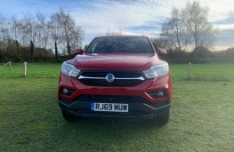 SsangYong Musso Rhino, 2020, nose