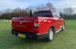 SsangYong Musso Rhino, 2020, rear