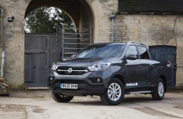 SsangYong Musso Rhino LWB, 2020, front