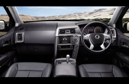 SsangYong Musso, 2017, interior, automatic
