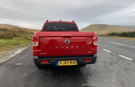 SsangYong Musso Rhino, 2020, tail