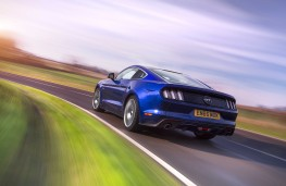 Ford Mustang, 2016, rear, action