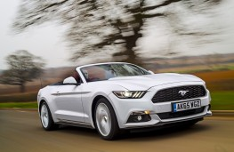 Ford Mustang Convertible, 2016, front, action