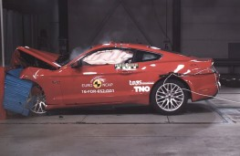 Ford Mustang Euro NCAP crash test, 2017