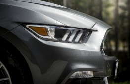 Ford Mustang, convertible, headlights