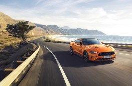 Ford Mustang55, 2019, front